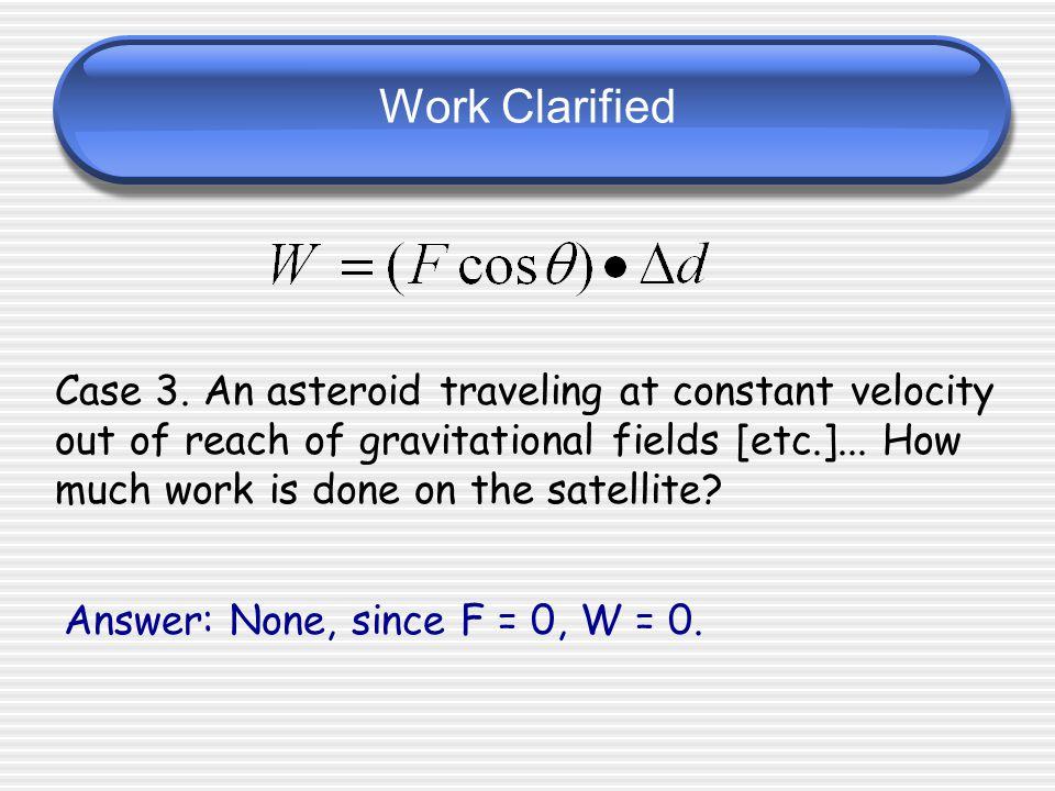 Work Clarified
