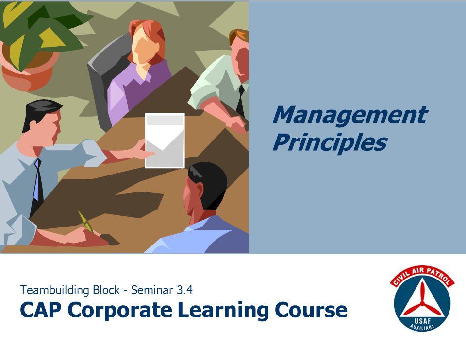 Teambuilding Block - Seminar 3.4 CAP Corporate Learning Course