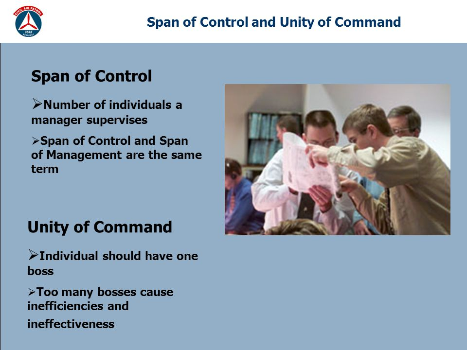 Span of Control and Unity of Command