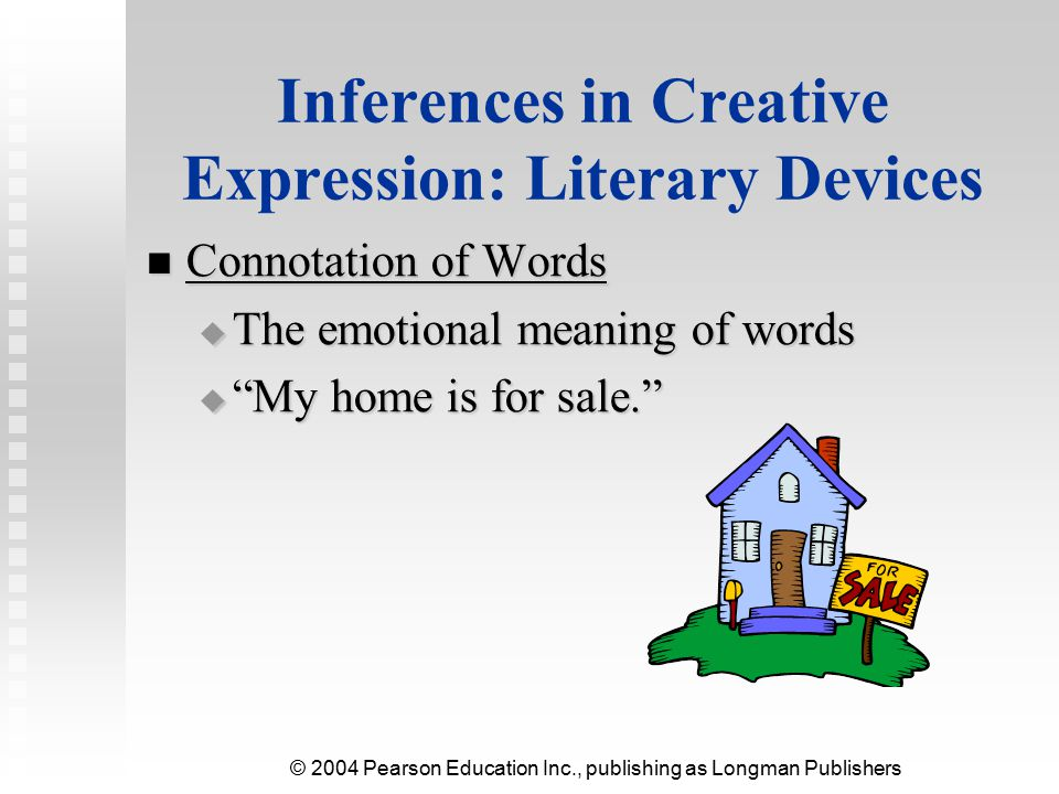 Inferences in Creative Expression: Literary Devices