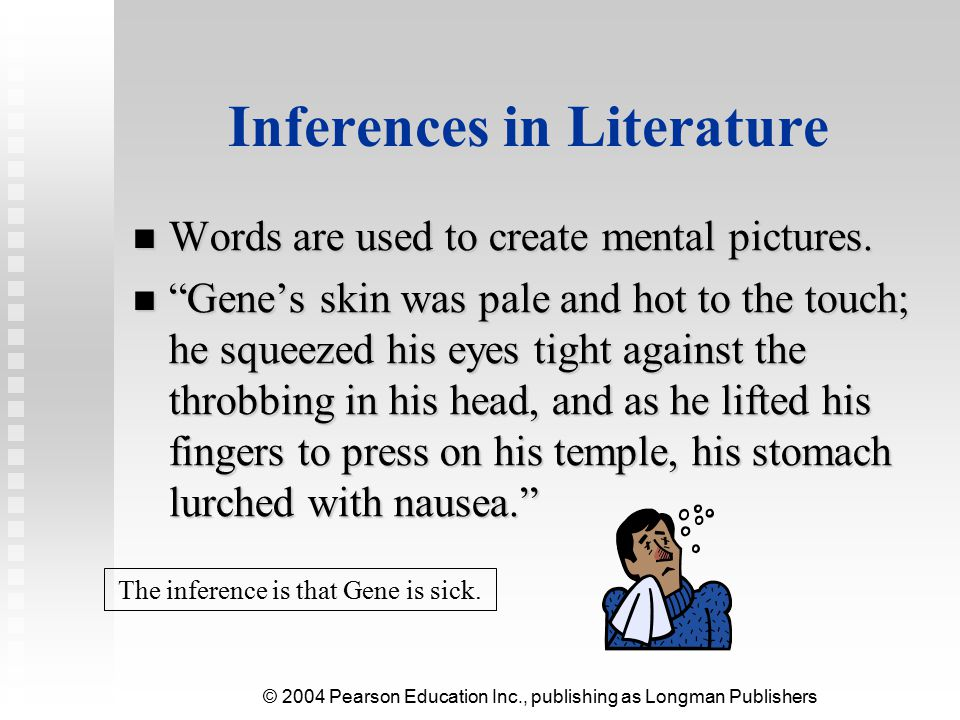 Inferences in Literature