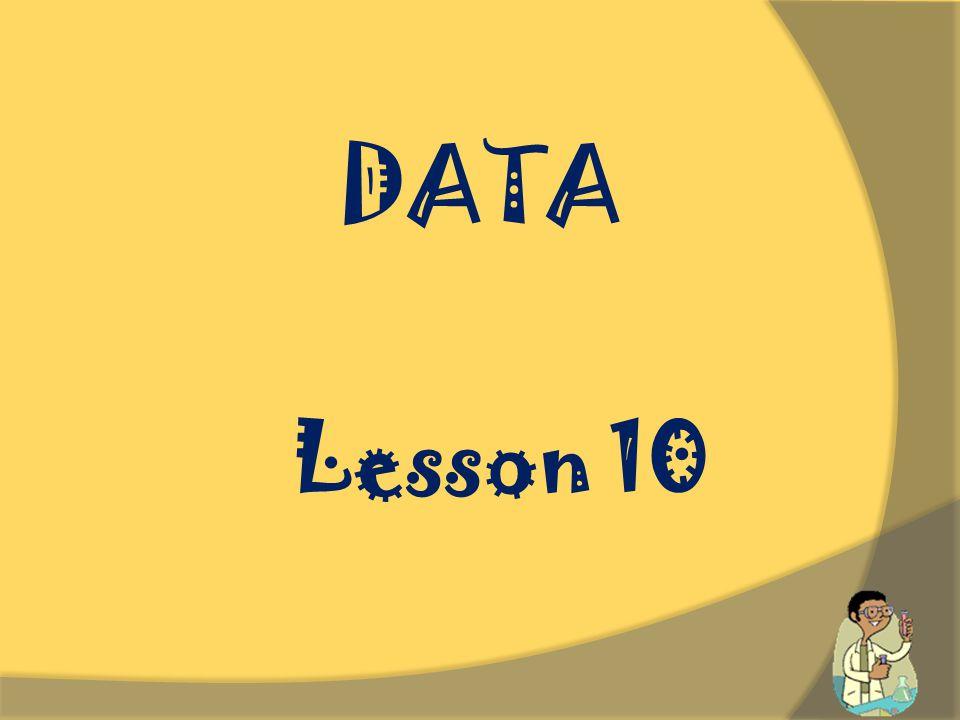 DATA Lesson 10.