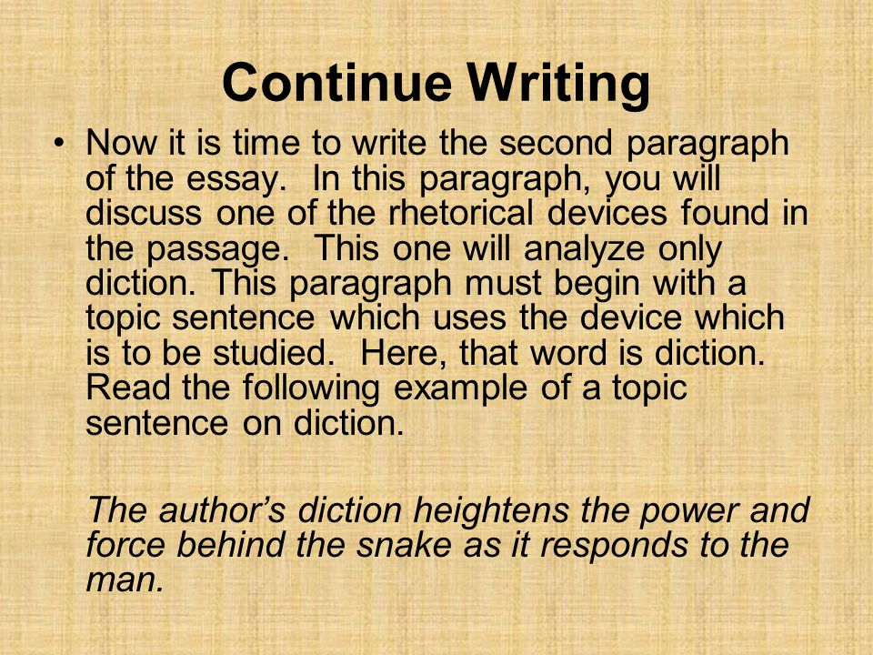 Continue Writing