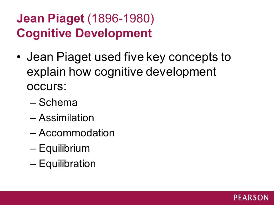 jean piaget cognitive deveolpment