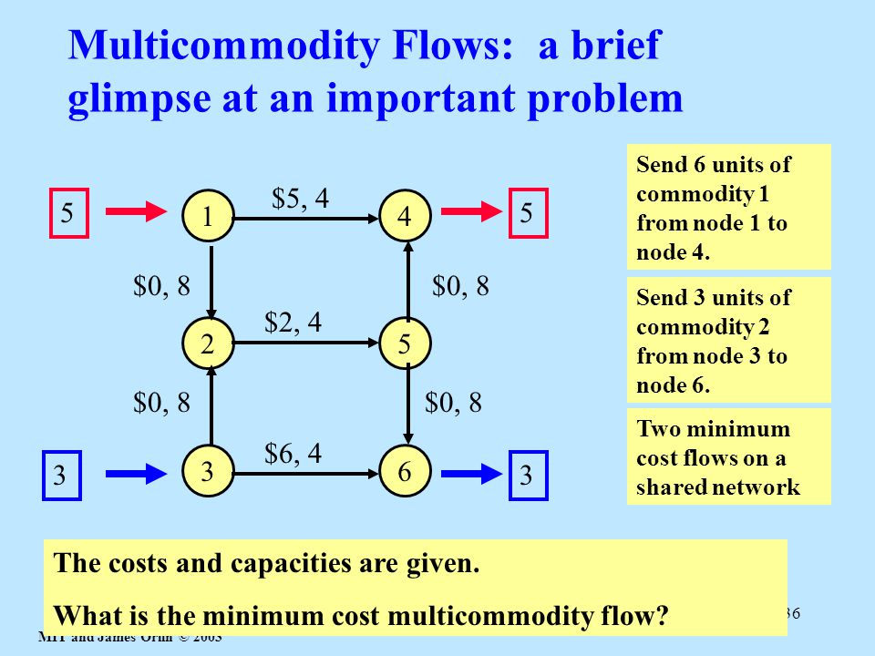 Multicommodity Flows: a brief glimpse at an important problem