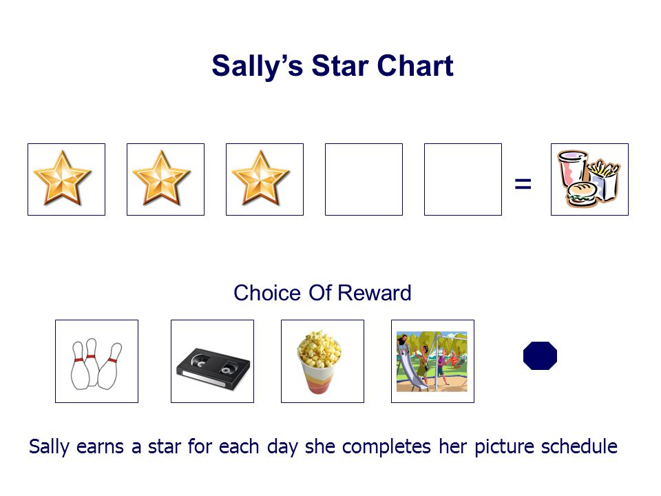 = Sally's Star Chart Choice Of Reward