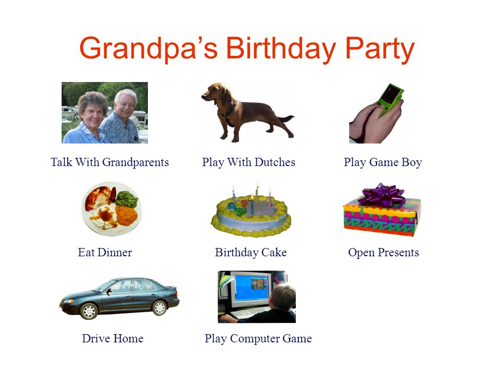 Grandpa's Birthday Party