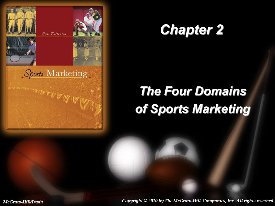 The Four Domains of Sports Marketing