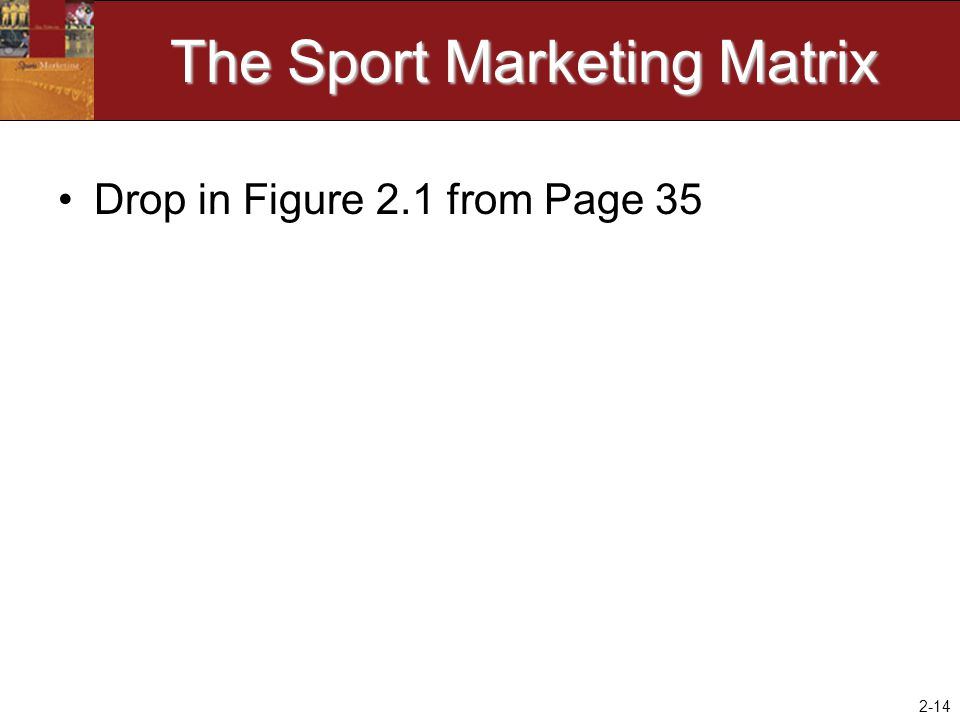 The Sport Marketing Matrix