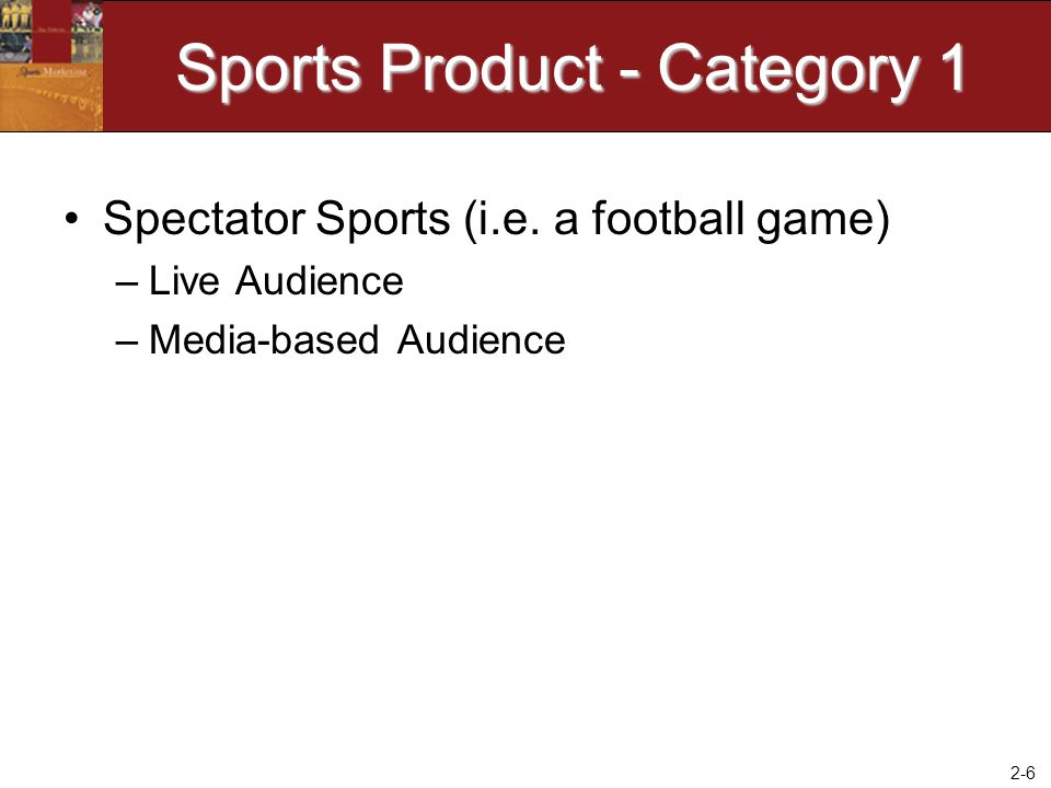 Sports Product - Category 1