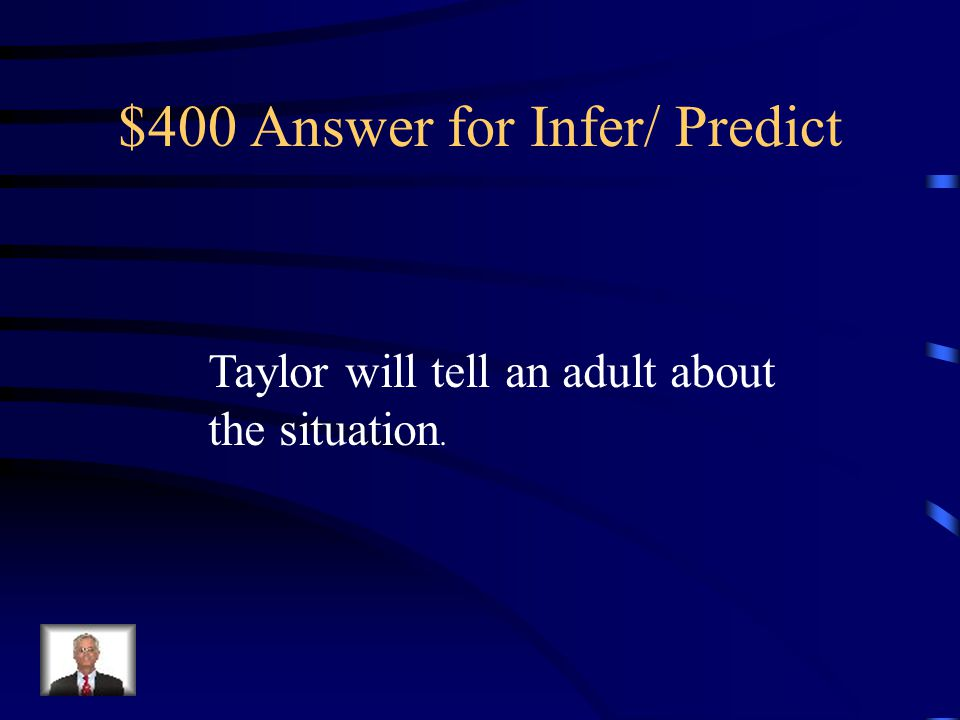 $400 Answer for Infer/ Predict