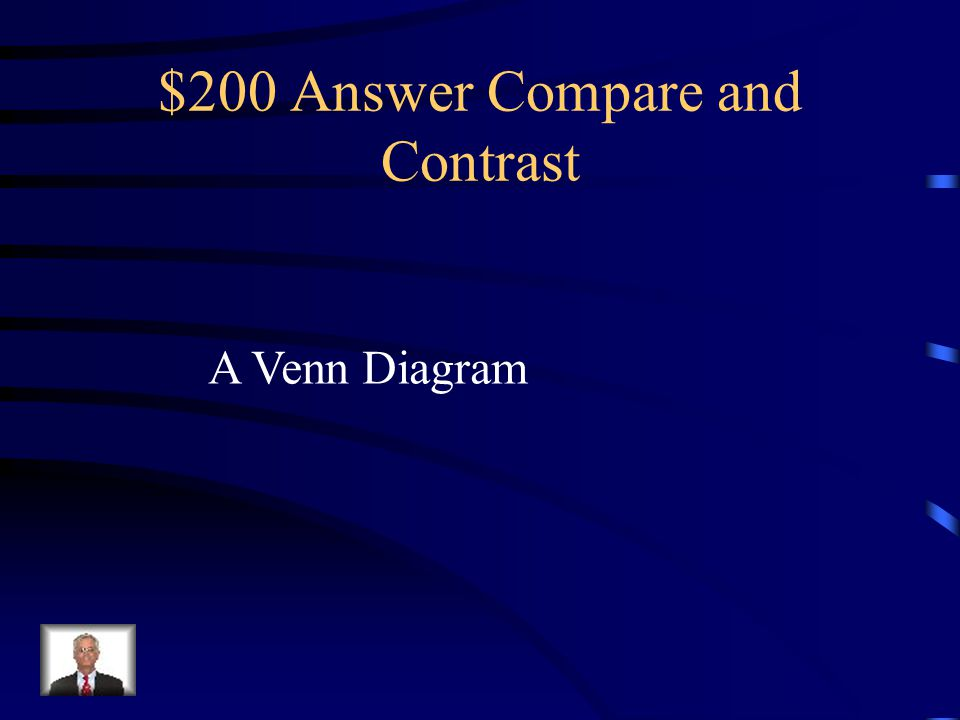 $200 Answer Compare and Contrast