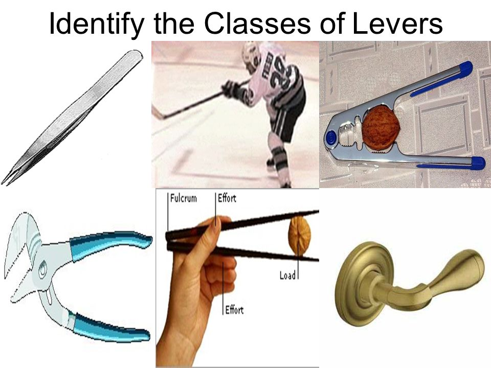 Identify the Classes of Levers