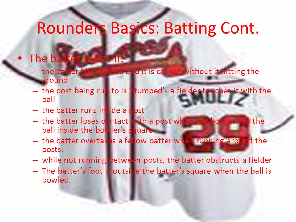 Rounders Basics: Batting Cont.