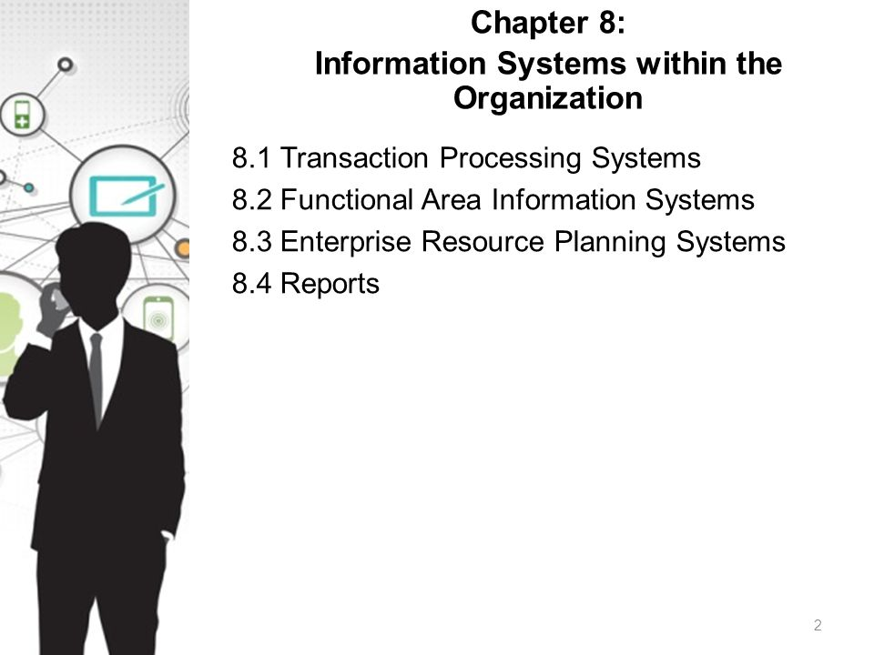 Chapter 8: Information Systems within the Organization