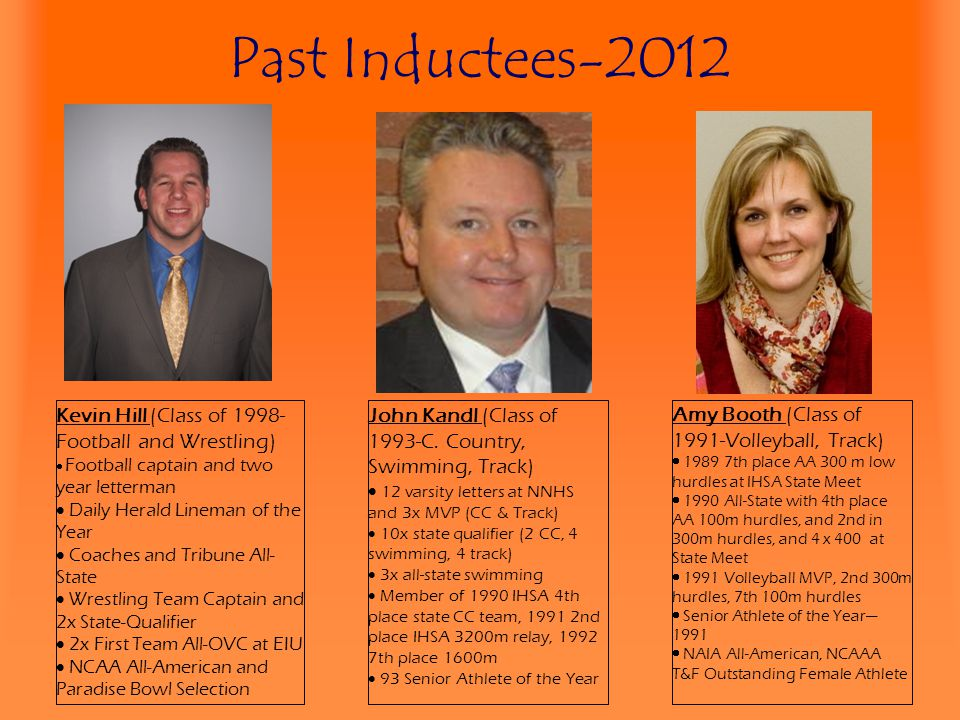 Past Inductees-2012 Kevin Hill (Class of 1998-Football and Wrestling)