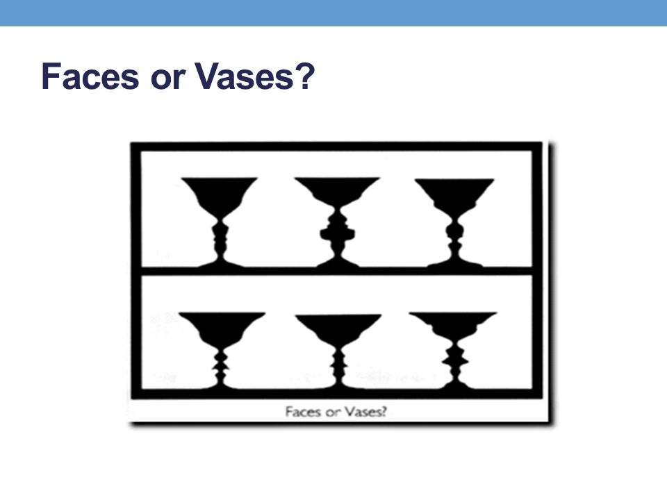 Faces or Vases