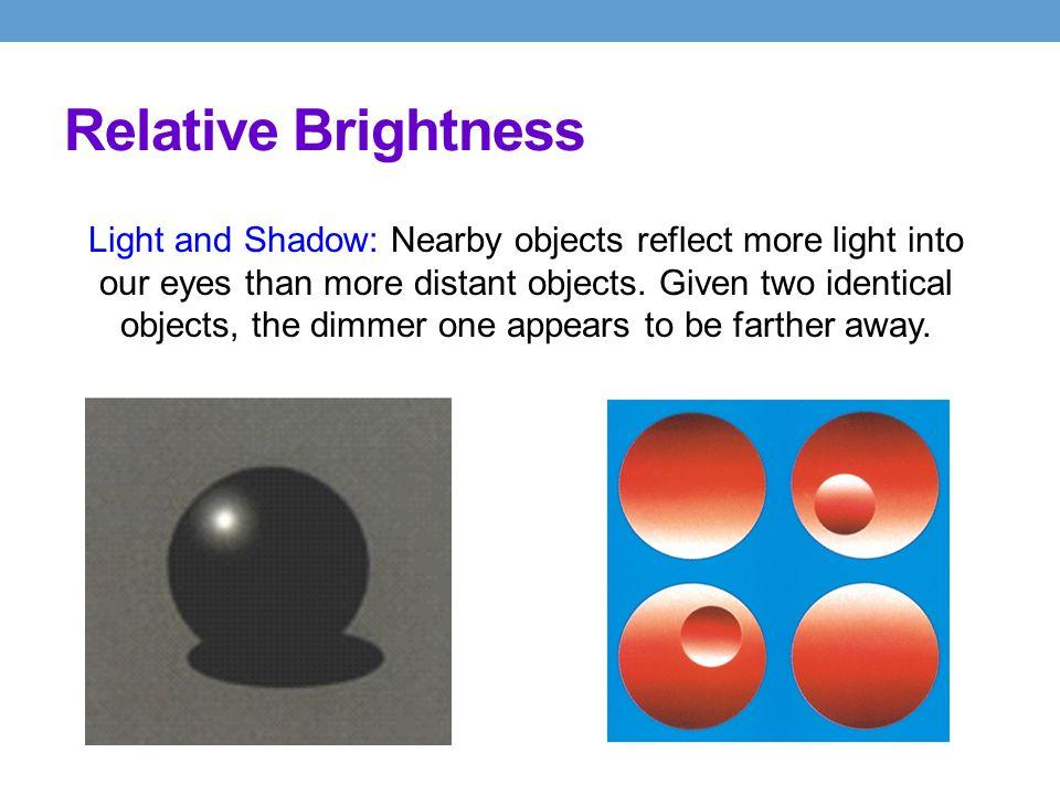 Relative Brightness