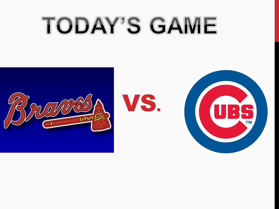TODAY'S GAME VS.