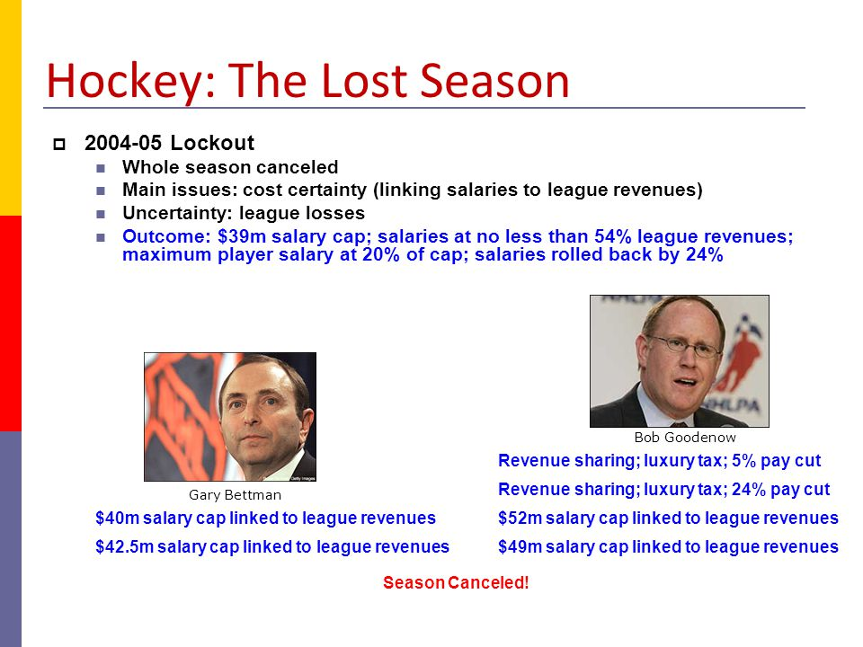 Hockey: The Lost Season