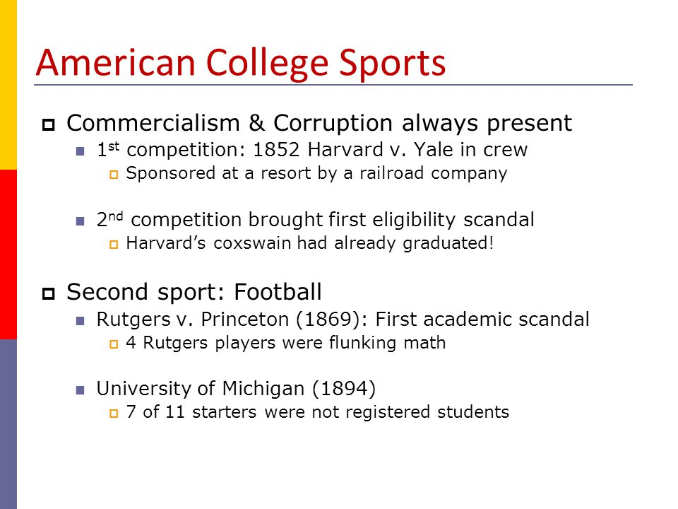 American College Sports