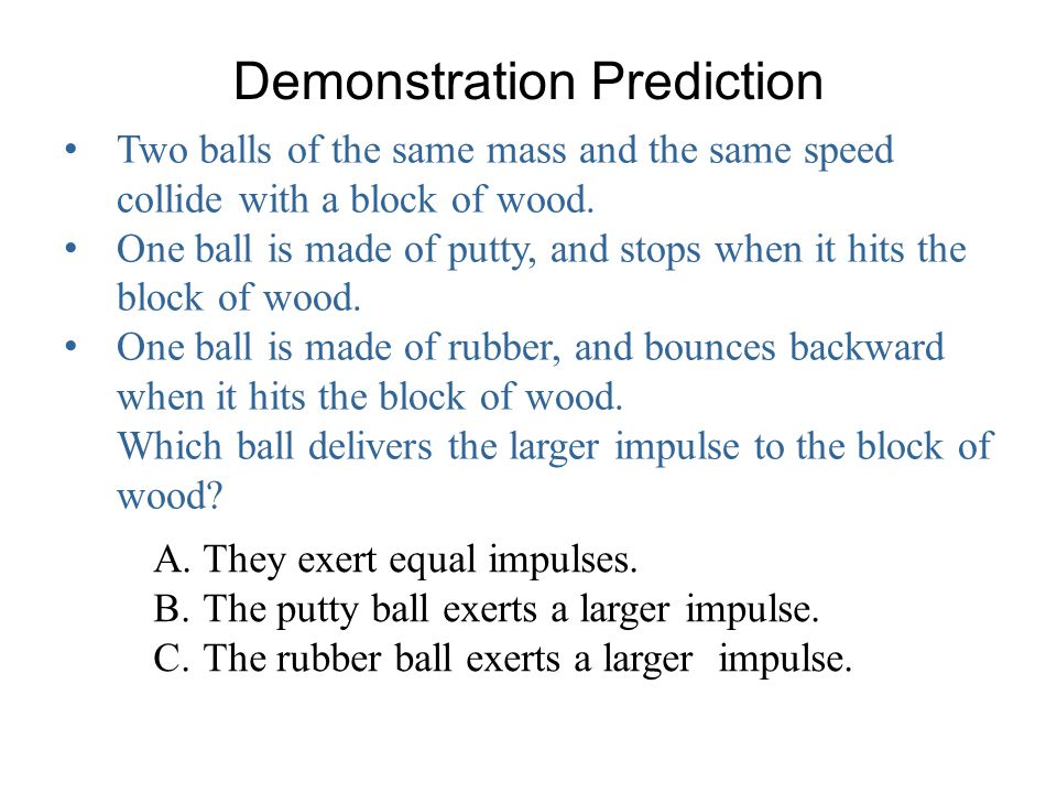 Demonstration Prediction