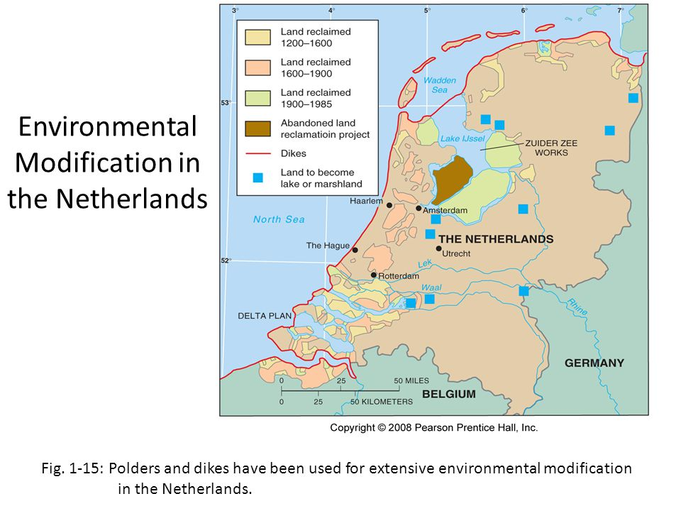 Environmental Modification in the Netherlands