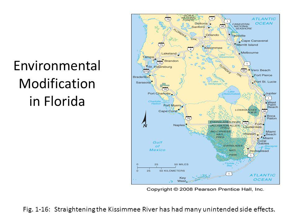 Environmental Modification in Florida