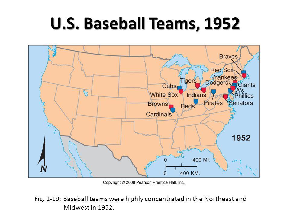 U.S. Baseball Teams, 1952 Fig.