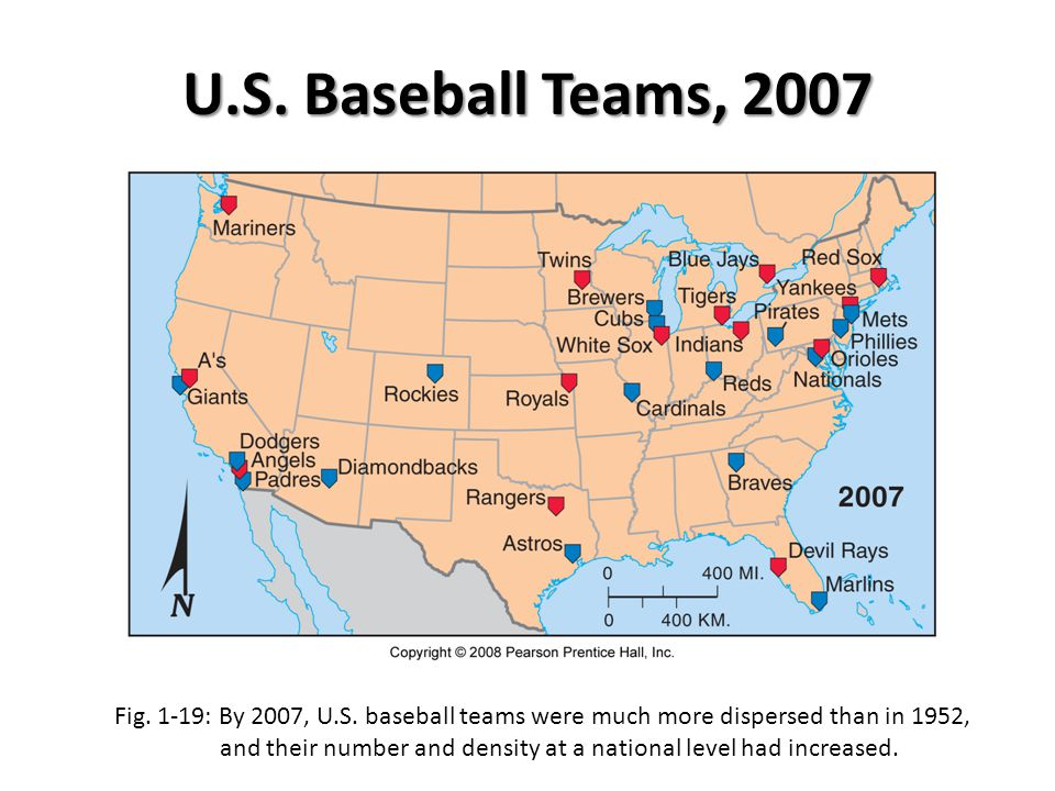 U.S. Baseball Teams, 2007