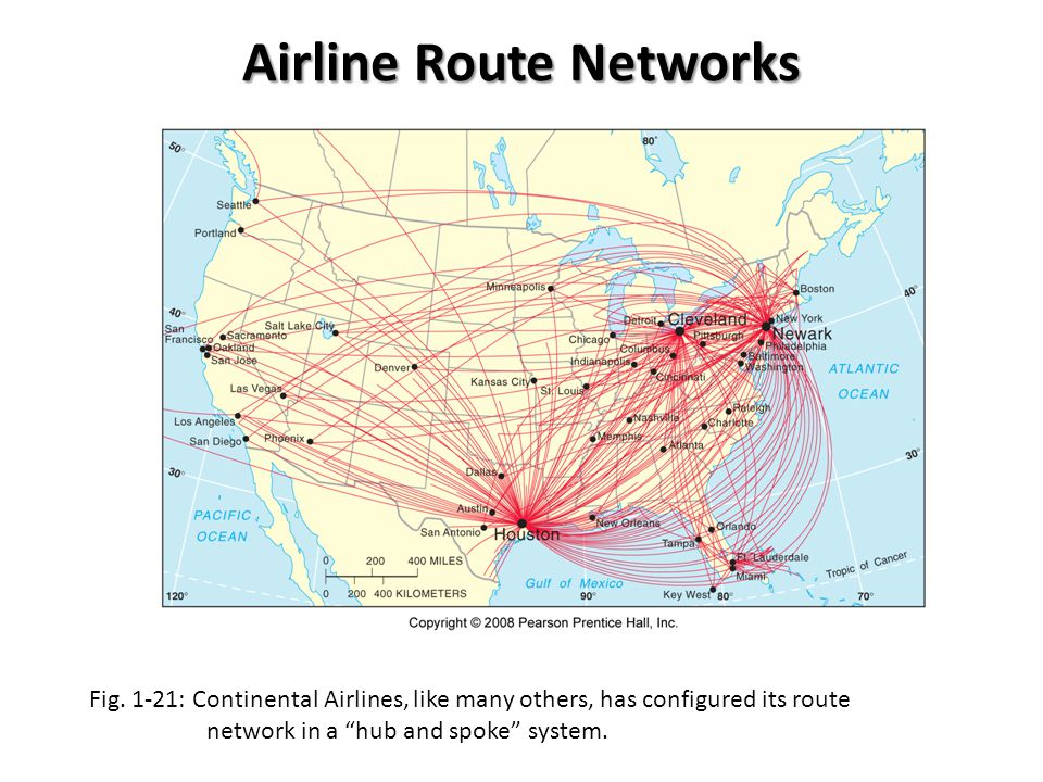 Airline Route Networks