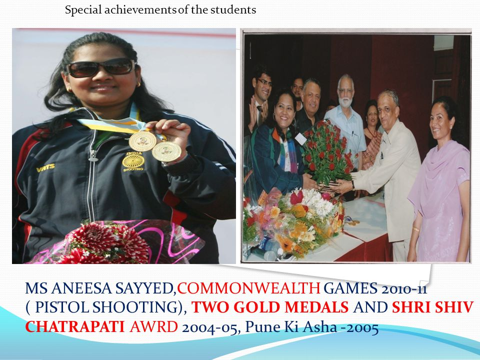 Special achievements of the students