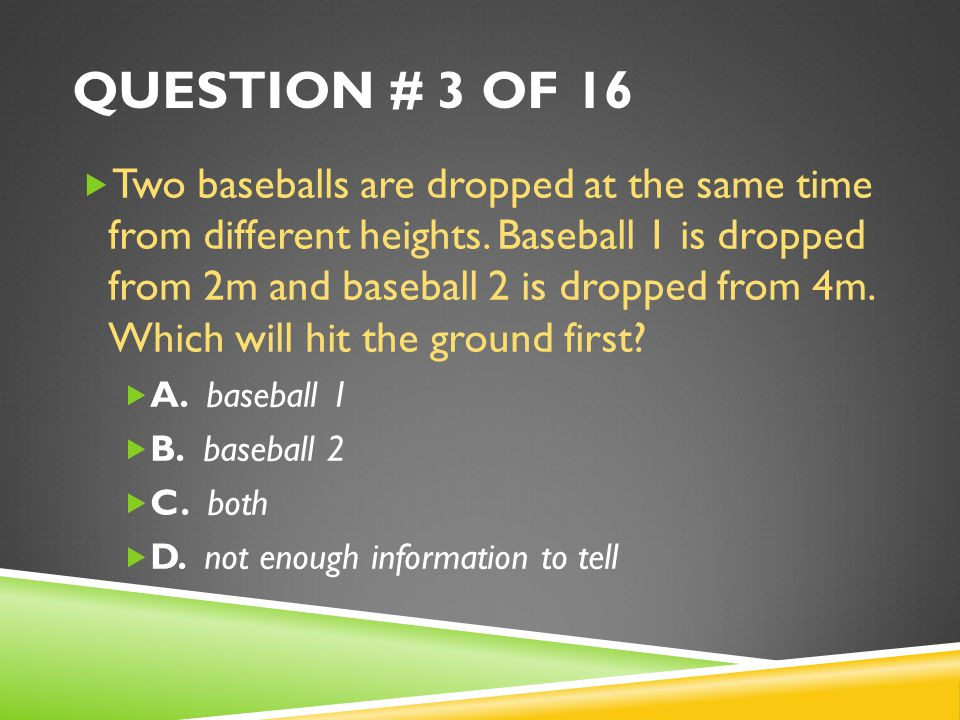 Question # 3 of 16