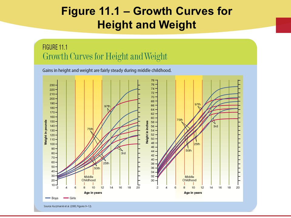 Figure 11.1 – Growth Curves for