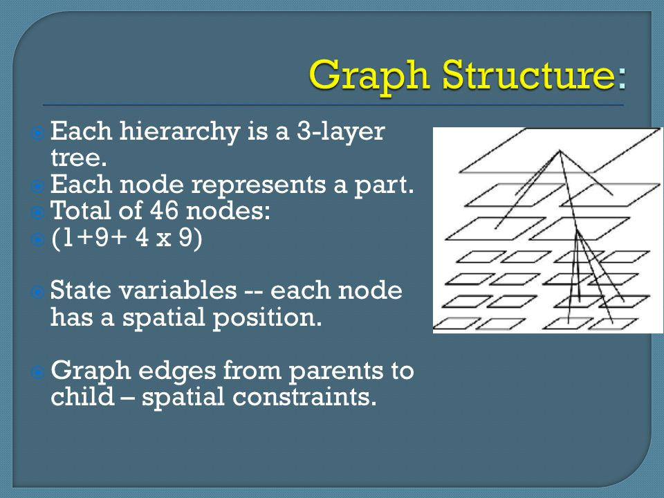Graph Structure: Each hierarchy is a 3-layer tree.