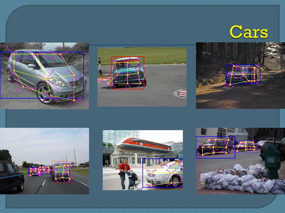 Cars Occlusion happens in the bottom-middle image.