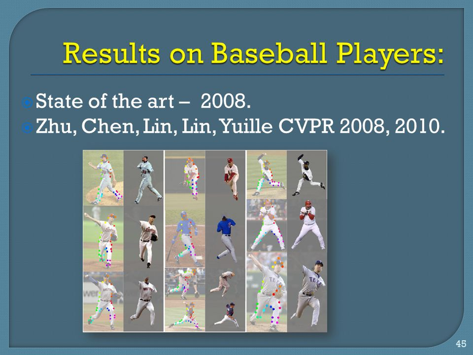 Results on Baseball Players: