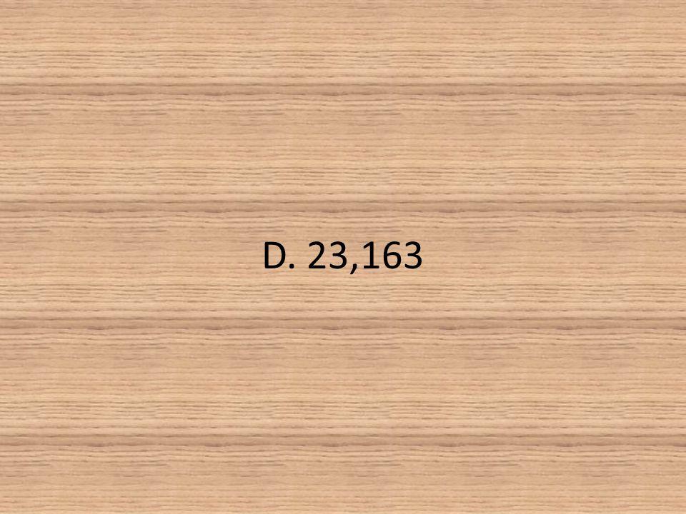 D. 23,163