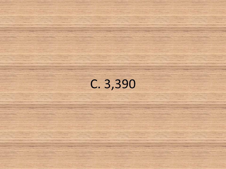 C. 3,390