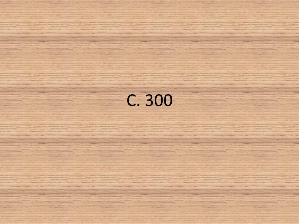 C. 300