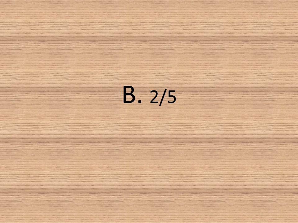 B. 2/5