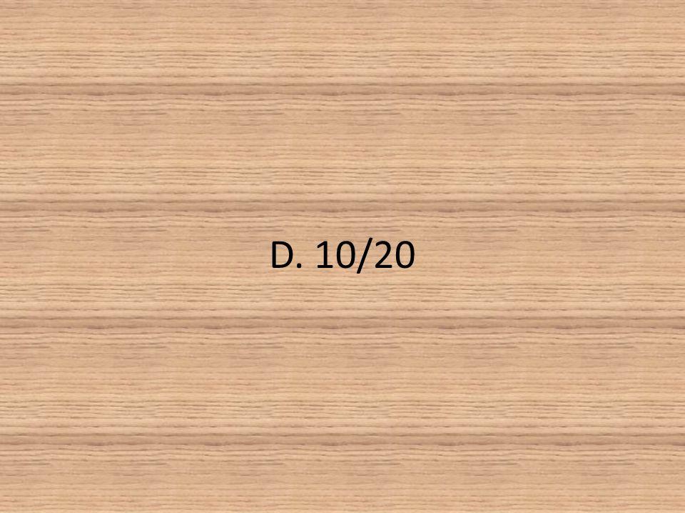 D. 10/20