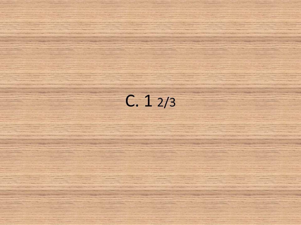 C. 1 2/3