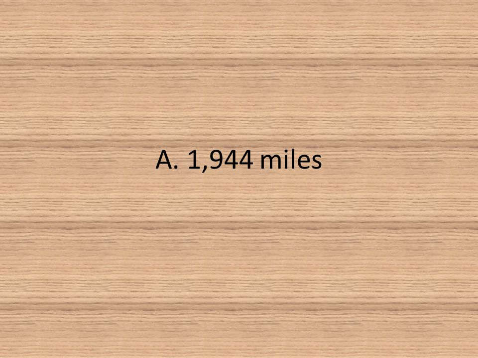 A. 1,944 miles