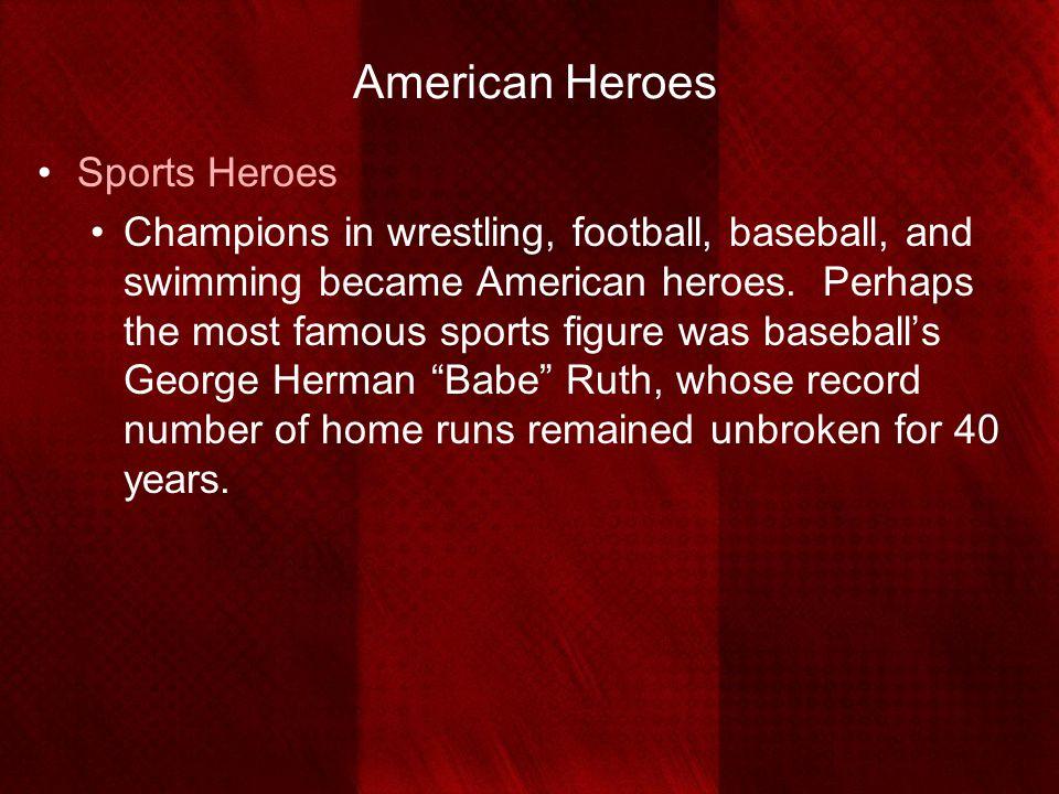 American Heroes Sports Heroes