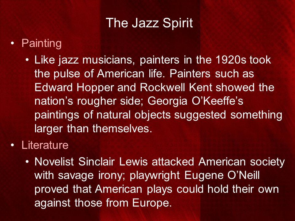 The Jazz Spirit Painting