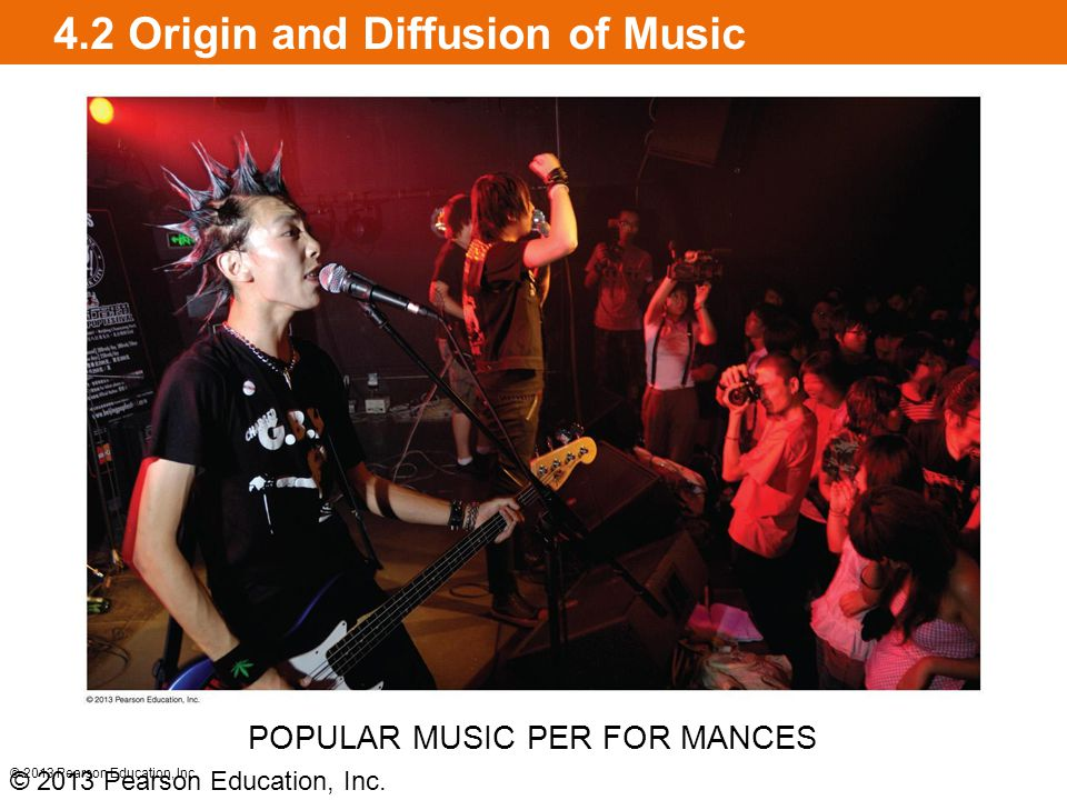 4.2 Origin and Diffusion of Music