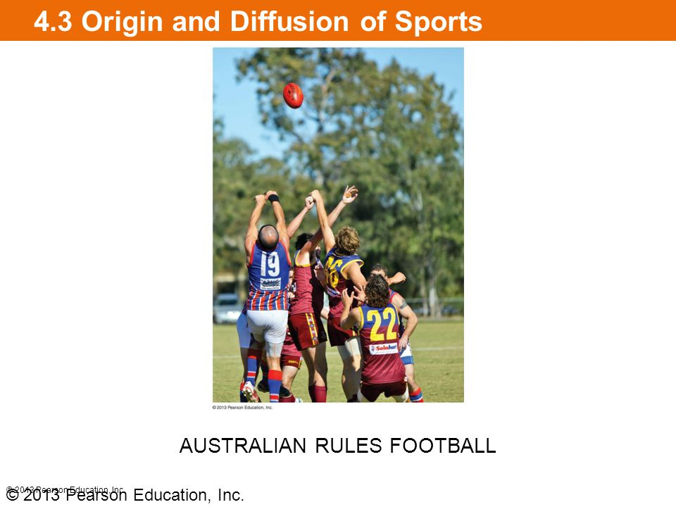 4.3 Origin and Diffusion of Sports