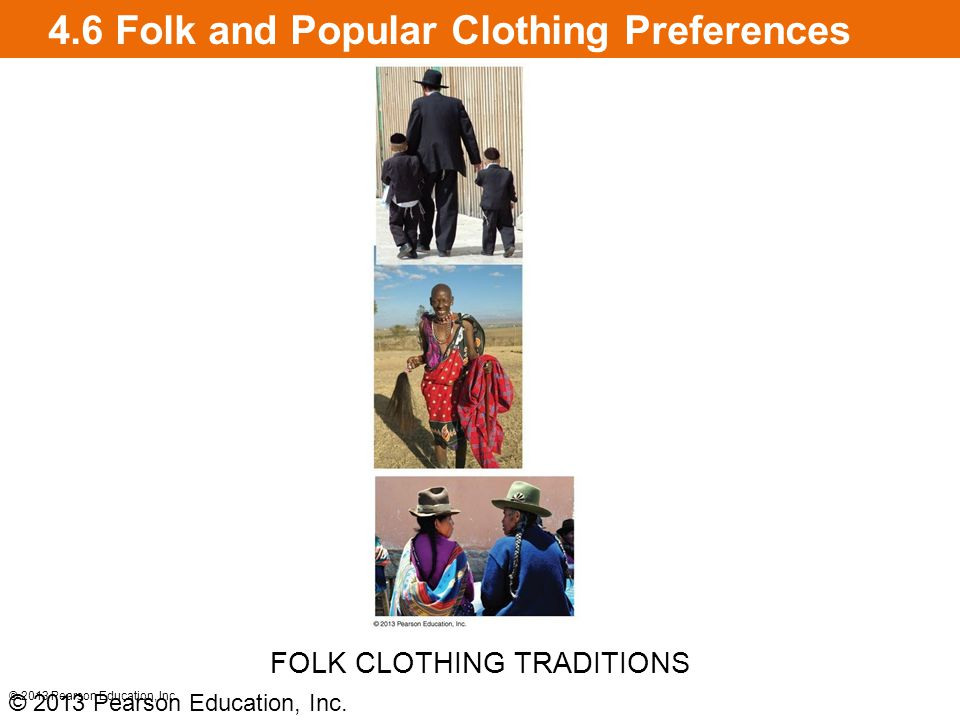 4.6 Folk and Popular Clothing Preferences