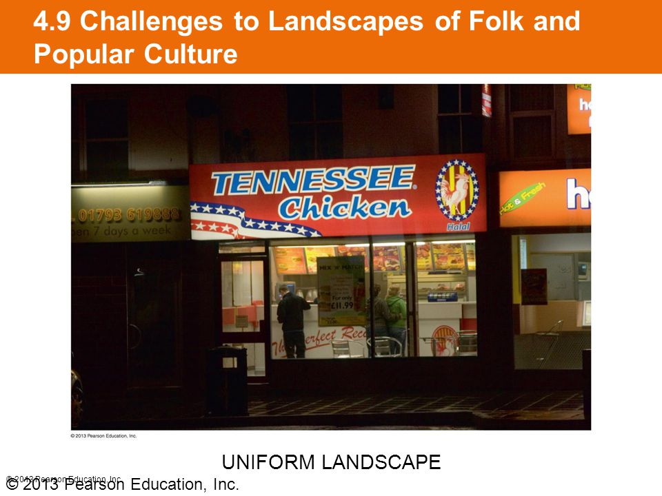 4.9 Challenges to Landscapes of Folk and Popular Culture